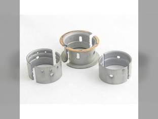 "Main Bearings - .020"" Oversize - Set Massey Ferguson 3165 302 304 3165 65 165 Continental G176"