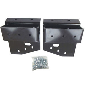 Weight Bracket Set New Holland LX665 L160 L565 LS160 LS170 L170 LX565 John Deere 7775 6675 86504860 86504861 86590312 86590314 AM120232 AM120233