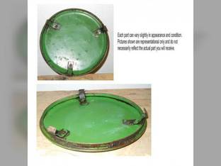 Used Flywheel Inspection Cover Plate John Deere BW 70 BNH BWH 520 AR BN 50 B 60 A 730 720 AO 620 630 530 AB3579R