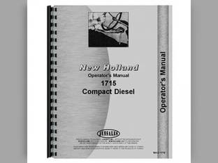 Operator's Manual - NH-O-1715 New Holland 1715