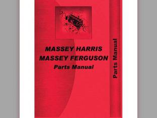 Parts Manual - MH-P-44 SPCL Massey Harris/Ferguson Massey Harris 44 44