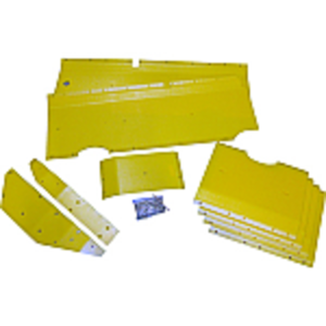 Poly Skid Plate Kit - 24' Header