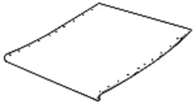 Feederhouse Floor Sheet - Return Floor False Bottom