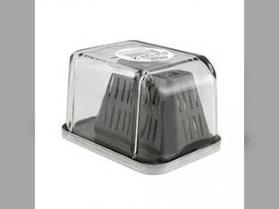 Filter - Fuel Box Style Glass Water Seperator Coalescer BF912 John Deere 4050 4040 4430 4450 4840 4250 4650 4030 4640 4230 4455 4255 4850 White Allis Chalmers New Holland Massey Ferguson Caterpillar