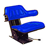 Seat and Suspension Assembly - Blue
