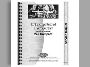 Service Manual - IH-S-275 International Harvester Case IH 275