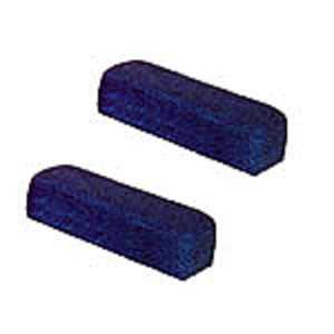 Arm Rests - Blue Fabric