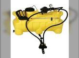 Spot Sprayer 25 Gallon ATV 4.0 gpm 12 Volt Pump Deluxe Spray Wand