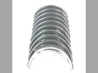 Main Bearings - Standard - Set Yanmar Komatsu WB150PS-2 WB150AWS-2N PC110R-1 WB150-2N WB140-2N WA95-3 PW110R-1 WB98A-2 WA90-3 WB97R-2 WB93R-2 WB150PS-2N WB140PS-2N Gehl 7600 7800 Takeuchi TL150