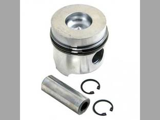 Piston and Rings - 0.60mm Oversize FIAT FL4L FD7 580 780 FD5 1180DT 1000 Super FL7 8045.04 565C 880-5 1180 880-5DT 766 8035.04 766DT 780DT 566DT 1000DT Super 566 580DT Allis Chalmers 5050 White 700