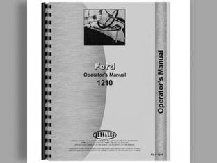 Operator's Manual - 1210 Ford 1210