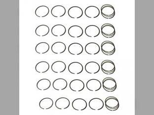 Piston Ring Set - Standard - 6 Cylinder Allis Chalmers A D17 B 262