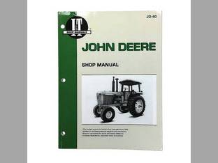 I&T Shop Manual - JD-60 John Deere 4255 4255 4455 4455 4755 4755 4555 4555 4055 4055 4955 4955