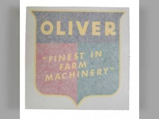 "Tractor Decal Finest in Farm Machinery 6"" Vinyl Oliver 60 1800 77 66 1950 Super 77 1755 70 2150 770 1655 880 550 1955 88 1555 1600 660 Super 88 1550 1750 Super 55 1850 1650 1855 1900 Super 66 2050"