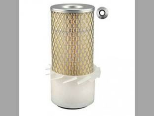 Air Filter Element with Fins PA1865 Kubota L2350 L235 B8200 L245 L185 Case John Deere 655 650 750 755 Allis Chalmers WD45 Yanmar Ford 1210 1510 1310 Massey Ferguson 205 205 Deutz Kioti White Bolens
