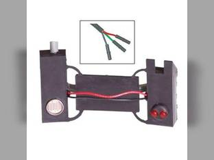 Seed Flow Sensor - 3-Wire Connector John Deere 7200 7200 7000 7000 7300 7300 7100 7100 White 5400 5400 5100 5100 5700 5700 Case IH 800 800 900 900 43350-0001S1 AA27652