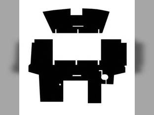 Cab Foam Floor Mat Black Massey Ferguson 3545 3650 3680 3525 3630