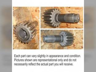 Used Bull Pinion Shaft John Deere 4010 R26045