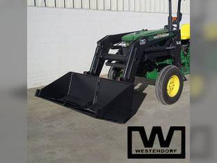 Front End Loader – 2WD 30 to 120 HP 4WD 30 to 90 HP with Skid Steer Adaptor Westendorf TA-26