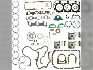 Engine Rebuild Kit - Less Bearings - Standard Pistons Ford 3900 340 BSD329 175 333 335 3600