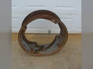 "Used 11"" x 28"" 4 Rail Rear Rim Ford 3400 3110 2100 3610 2310 3120 2600 3300 2120 3190 2110 2300 2610 3330 3055 3100 2000 3310 3600 Allis Chalmers WD WD45 220011 C5NN1050H"