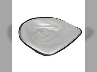 "Pan Seat 21"" Deluxe Cushion Vinyl Silver International C 350 230 Super M A 300 340 400 460 200 Super C 450 B Super H Massey Ferguson 30 2135 TO30 35 135 TO35 65 50 20 Minneapolis Moline Massey Harris"
