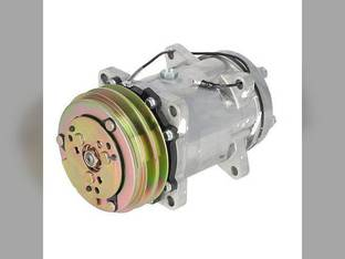 Air Conditioning Compressor - w/Clutch Massey Ferguson 393 4235 3120 4245 4255 362 4225 3545 383 375 3050 3060 398 365 399 3650 390 AGCO Challenger / Caterpillar White Allis Chalmers Landini CLAAS