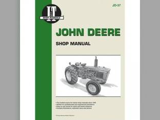 I&T Shop Manual - JD-37 John Deere 2020 2020 1520 1520 2030 2030 1530 1530 1020 1020