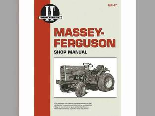 I&T Shop Manual - MF-47 Massey Ferguson 1020 1020 1010 1010